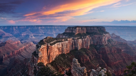 canyon view - cool, mountains, nature, sunset, fun, canyon