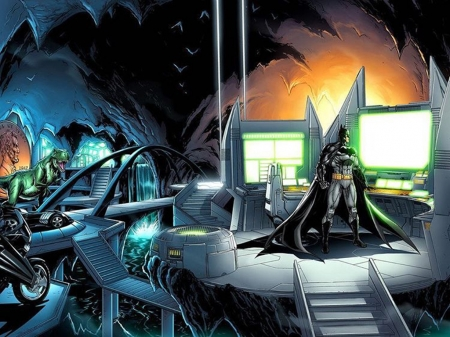 Batcave Other Entertainment Background Wallpapers On