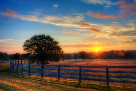 Texas Hill Country Sunrise in Autumn - Sky & Nature Background Wallpapers on Desktop Nexus (Image 2174902)
