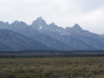 Teton Mountain Range, Jackson Hole, Wyoming Airport