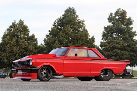 Hopped-Up Hemi-Powered Twin Turbo Grudge Nova - Twin Turbo, Red, GM, Pro Street