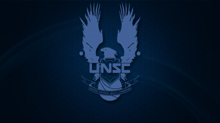 UNSC Wallpaper (Dark Logo) - UNSC Wallpaper, Halo2, Halo3, Halo1, Halo Combat Evolved, eagle, Blue dunes, UNSC, Halo wallpaper, Halo blue, HD wallpaper, Dunes, 2560x1440, blue eagle, Blue, dw0x