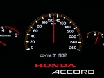Honda Accord Speedometer