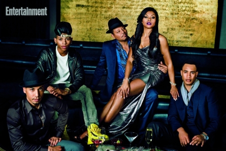 TARAJI HENSON/TERRENCE HOWARD/EMPIRE CAST - CAST, EMPIRE, TV SERIES, ACTRESS, ACTORS