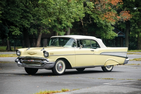 1957 Chevy Bel Air Covertible - cars, 1957, covertible, chevrolet
