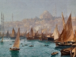 Boats in the Port of Constantinople F