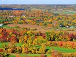 Stunning Autumn Scenery Panorama