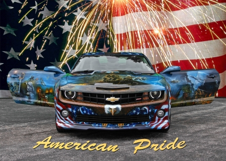 American Pride Chevrolet Amp Cars Background Wallpapers On