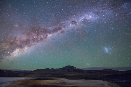 Galaxies from the Altiplano - stars, fun, cool, galaxies, space