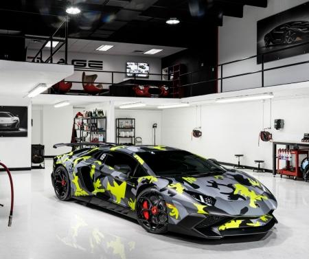 Camo Wrapped Novitec Torado Lamborghini Lamborghini Cars