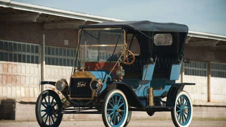 1911 Ford Model T - Ford, car, auto, 1911, Model T, vintage