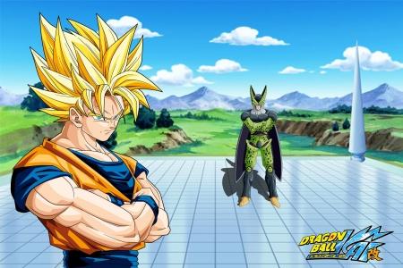 Dbz Goku Vs Complete Cell Tv Series Entertainment