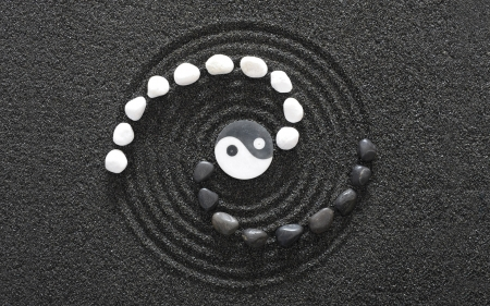 Yin Yang - yang, zen, good, bad, Yin, chi