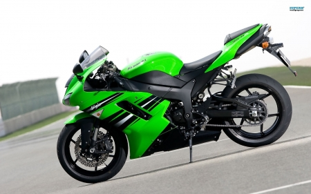 2008 Kawasaki Ninja ZX6R - Kawasaki & Motorcycles Background ...
