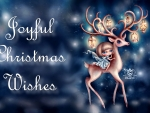 Joyful Christmas Wishes F