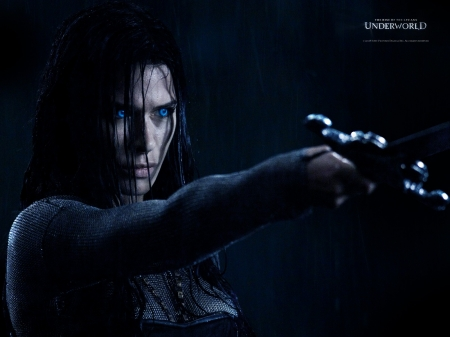 Underworld: Rise Of The Lycans - Sonja, babe, movie, film, woman, character, Rise Of The Lycans, actress, 2009, Underworld, vampire, Rhona Mitra, gorgeous