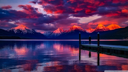 Lake McDonald, Montana - lakes, McDonald, nature, Montana
