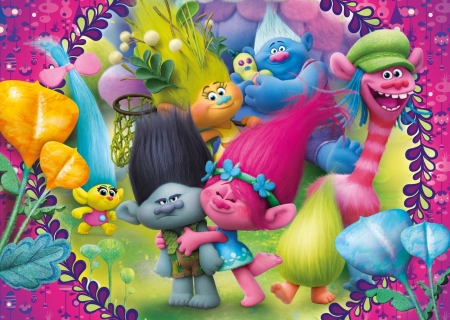 Trolls 2016 Movies Entertainment Background Wallpapers On Desktop Nexus Image 2187444