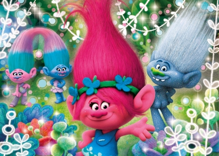 Trolls 2016 Movies Entertainment Background Wallpapers On Desktop Nexus Image 2187446
