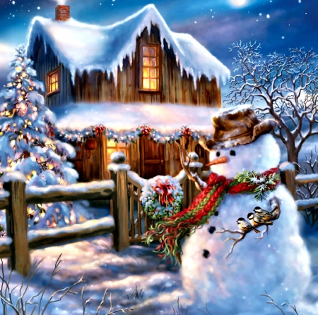 Country Christmas Background.A Country Christmas F2cmp Winter Nature Background