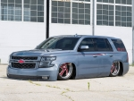 Creating the World's First Bodydropped 2015 Chevy Tahoe