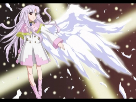 Azmaria apostile - azmaria, wings, anime, angel