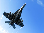 F/A-18E Super Hornet strike fighter