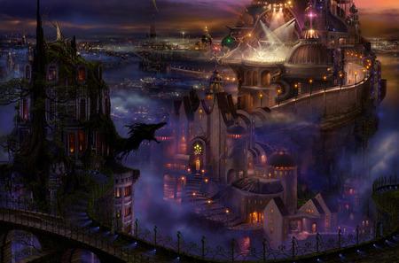 Fantasy Landscape - fantasy, landscape, amazing
