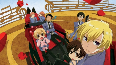 #Nothing - kawaii, train, romance, anime girl boy, Ouran high school host club, happy