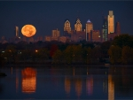 Philadelphia Perigee Full Moon