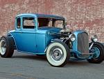 32 Ford Five Window Coupe