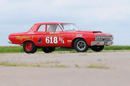 1964 Hemi Plymouth - Classic, Red, Muscle, Mopar