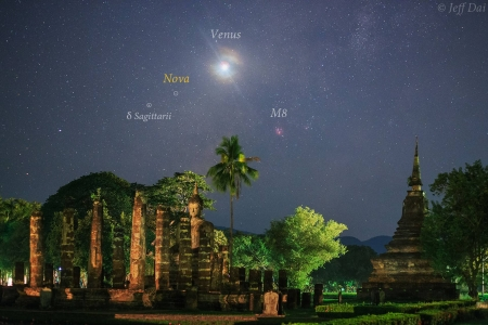 Nova over Thailand - stars, Nova, fun, cool, planet, Thailand, space