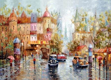 Rainy Day Downtown F1