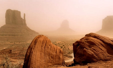 Monument Valley Navajo Reservation - Colorado, Navajo Reservation, scenery, desert, photography, Monument Valley, wide screen, beautiful, photo, USA