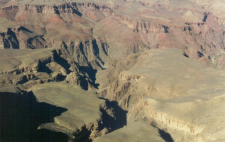 part of the grand canyon - grand canyon, arizona, canyons, usa, nature