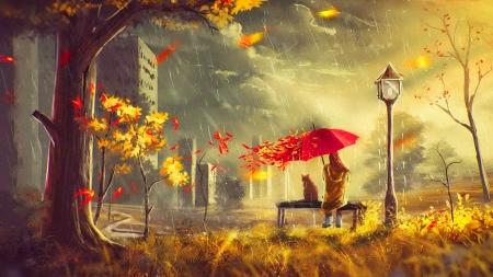 82 Koleksi Romantic Wallpaper In Rain Gratis Terbaik