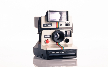 Polaroid Camera - camera, Retro, technology, vintage, instant picture, Style, picture, classic, photography, photo, electronics