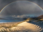 Rainbow above the Beach