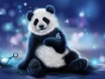 Panda cute wallpaper