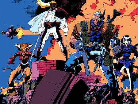 X Force Other Entertainment Background Wallpapers On