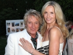 Happy Couple Penny Lancaster and Rod Stewart