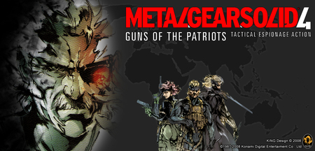 Metal Gear Solid 4: Guns Of The Patriots - guns of the patriots, metal gear solid 4