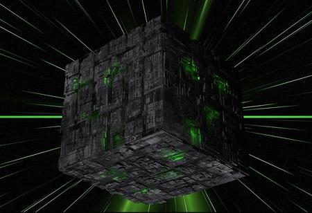 Resistance Is Futile - space, star trek, entertainment, tv series