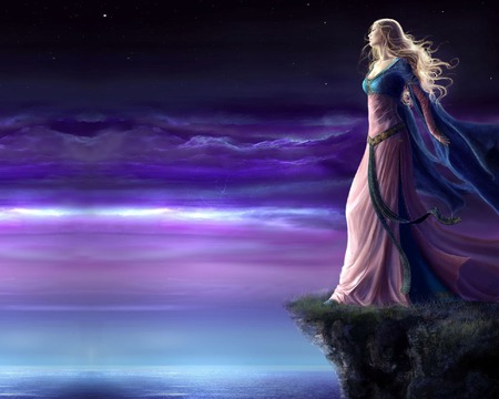 Waiting For You Fantasy Abstract Background Wallpapers On