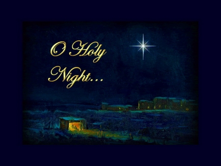 Oh Holy Night - 3D and CG & Abstract Background Wallpapers ...