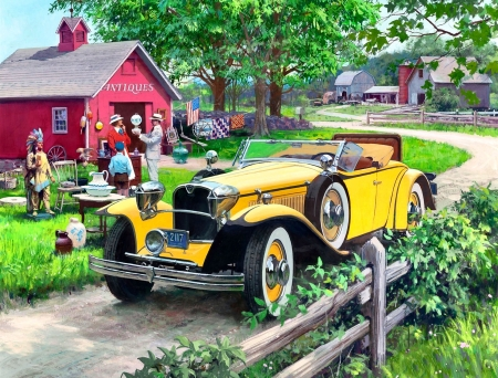 1930 Ruxton F1Cmp - art, Ruxton, beautiful, illustration, artwork, cars, 1930, automobile, painting, auto, wide screen