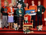 The Royal Family Ugly Christmas Sweaters!