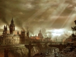 Future London destroyed by political decision