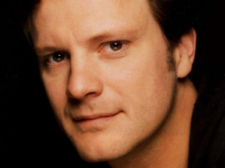 Colin Firth - Colin Firth, black, face, man, actor